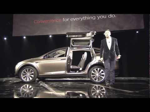 Tesla Model X SUV Reveal Video