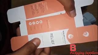 CBD Oil Bottle Packaging Boxes