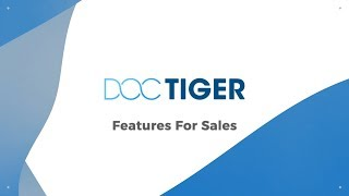 Doctiger Sales Industry Leading Features