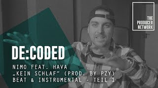 """De:Coded – Nimo Feat. Hava """"Kein Schlaf"""" (prod. PzY) – Beat & Instrumental 