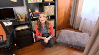 Sabrina Soto Earth Day Home Makeover - Living Room