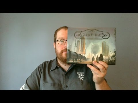 The Board Game Kaptain's review and tutorial for Brass Empire