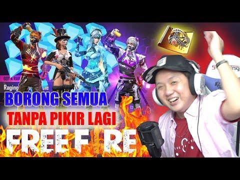 KURAS SEMUA DIAMOND BORONG SEMUA YANG TERBARU 2019 AUTO KESEL - FREE FIRE INDONESIA