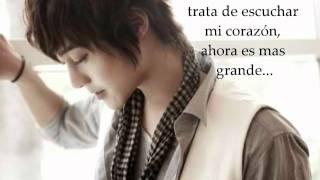 kim hyun joong- i'm your man en español