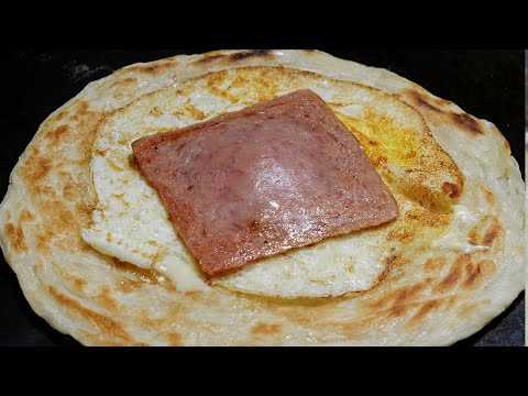 fried egg cheese bread / korean street food / 제주 올레시장