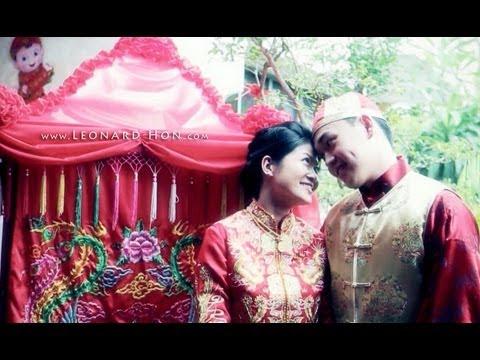 出嫁 - Traditional Chinese Wedding of Chin Sian + Hui Sien. 27.1.2013 (видео)