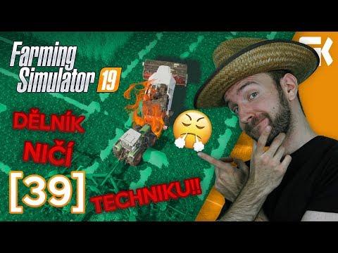 DĚLNÍK NIČÍ TECHNIKU! | Farming Simulator 19 #39