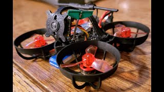 #mobula6 indoor ripping! #happymodel #betafpv #fpv #drones #bored #fatshark #crsfshot #tinywhoop