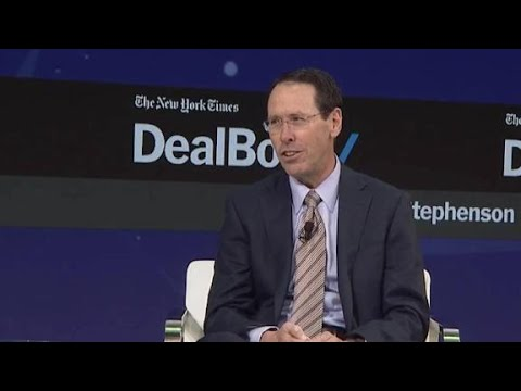AT&T CEO speaks out on the Time Warner deal