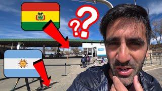 ¿Cómo Es Cruzar Una Frontera Internacional Caminando? Cruzo La Frontera Boliviana Desde Argentina