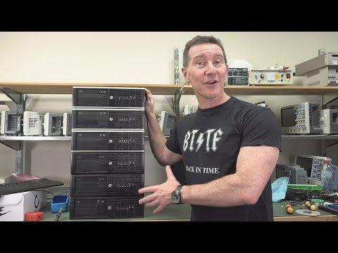 EEVblog #1212 - Dumpster Diving PC Motherlode!