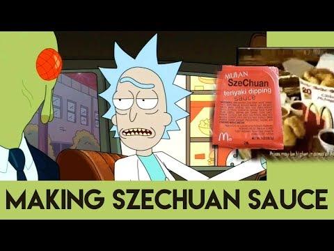 Rick and Morty - Szechuan Sauce Recipe Making The McDonald's Mulan Sauce From Scratch