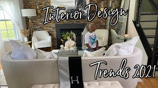 NEW* MUST SEE*HOME DECOR TRENDS/ INTERIOR DESIGN/ HOW TO DECORATE A MODERN LIVING ROOM/ DECOR IDEAS