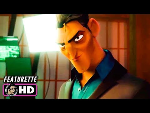 SPIES IN DISGUISE Featurette - Killian (2019) Ben Mendelsohn