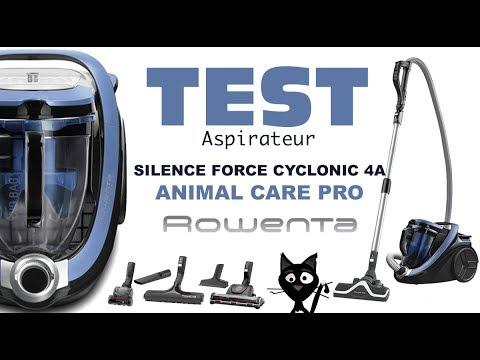 ✦Test & avis ✦ Aspirateur Silence Force  Cyclonic 4A  ROWENTA