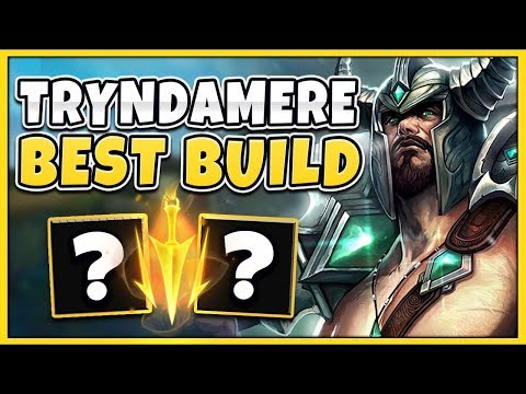 *CHALLENGER* RANK 1 TRYNDAMERE SHOWS  MOST BROKEN BUILD (INSANE)  - League of Legends
