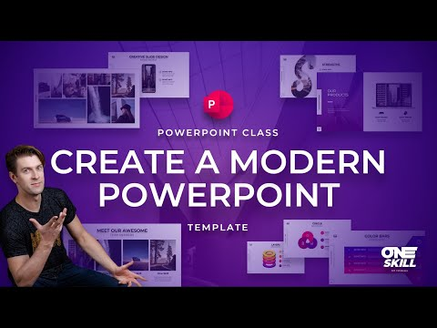 How To Create a Modern PowerPoint Template 🔥2021🔥