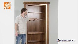 In-Swing Murphy Door Installation (HIDDEN DOOR!)