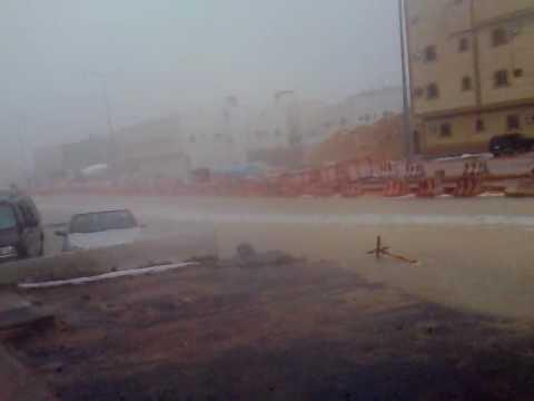 امطار وبرد الرياض ليوم الاثنين 19-5-1431
