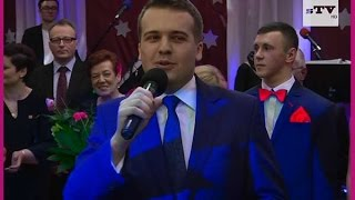 preview picture of video 'Studniówka I LO w Starachowicach - relacja video sTV 14.02.2015'