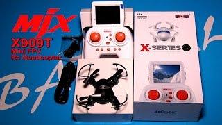 Мини Квадрокоптер MJX X909T с Камерой/RC Quadcopter MJX X909T With FPV Camera