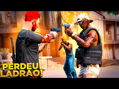 GTA V : VIDA DO CRIME:   UM ÚNICO TIRO PODE CUSTAR A MINHA VIDA!!   EP#20