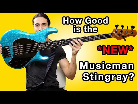 The NEW Ernie Ball Musicman Stingray Special - Full Review