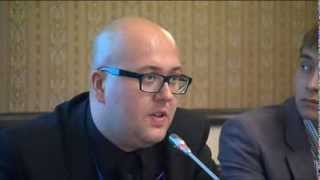 Jacek Purski about hate crime monitoring on the stadiums, 16.06.2011.