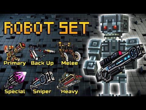 Pixel Gun 3D - Robot Set