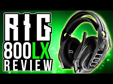 Plantronics RIG 800LX REVIEW and UNBOXING – Gaming Headset Review with Dolby Atmos