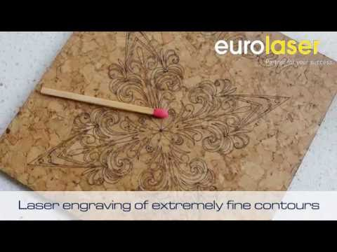 Cork | Laser cutting and engraving
