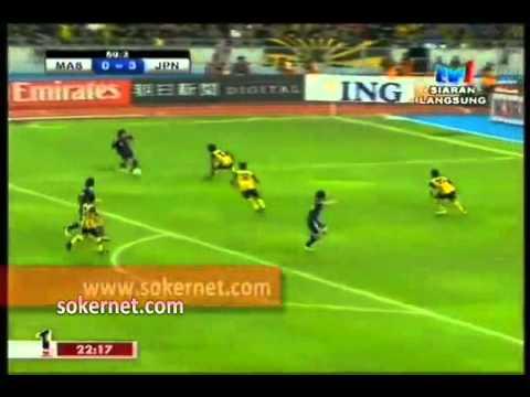 Malaysia vs Japan [0-4] (Kelayakan Olimpik 2012) 2nd half