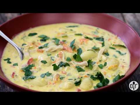 How to Make Creamy Chicken Gnocchi Soup   Soup Recipes   Allrecipes.com