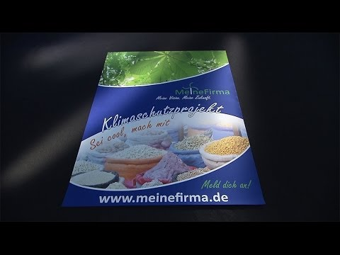 Wie Sie Digitalposter drucken (DIN A3, A2, A1, A0) - DruckDiscount24.de