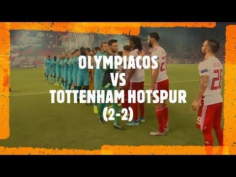 OLYMPIACOS VS TOTTENHAM HOTSPUR - (2 - 2)  UCL