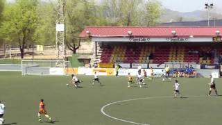 preview picture of video 'AEC MANLLEU - CE PREMIÀ  17/04/2010 jornada 26'