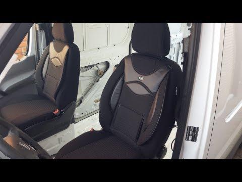 Sprinter ausbau Kastenwagen / Camper Van Sitze Sitzbezüge #Vlog5