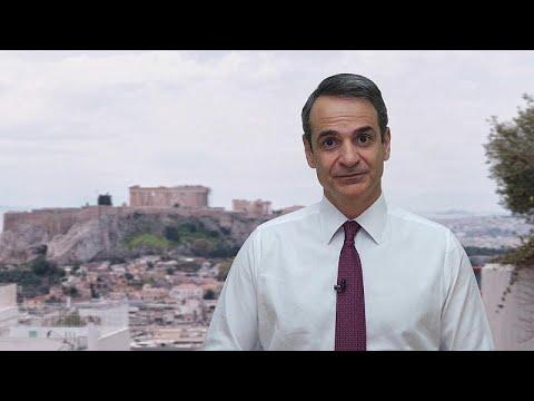 Σακελλαροπούλου και Μητσοτάκης για την ελληνική προεδρία στο Σύμβούλιο της Ευρώπης…