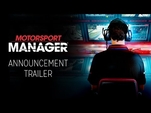 Motorsport Manager | Announcement Trailer [INT] thumbnail