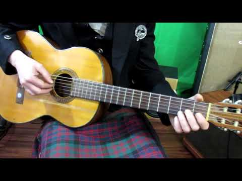 A lessson on open G tuning and the classic Scottish folk song Loch Lomond.