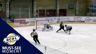 Must See Moment: John Evans steals the puck and scores yet another shorthanded goal
