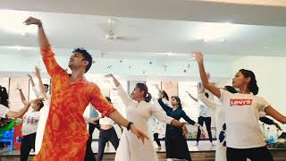 Ghar More Pardesiya- Kalank |dance cover|Madhuri Dixit |Alia bhatt| Bollykathak worshop| Ashish Pat