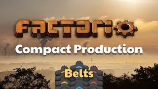 Factorio Compact Belt Production