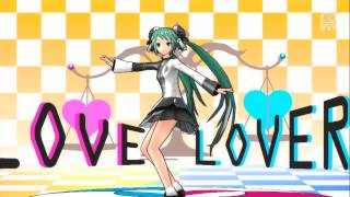 Gambar cover 『初音ミク -Project DIVA- F 2nd』 裏表ラバーズ (Two-Faced Lovers)