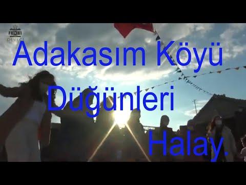Adakasım Köyü Düğünleri Halay.