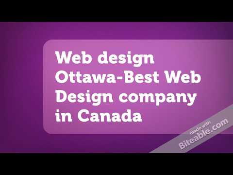 Web Design Ottawa-Best Web Design Company In Canada
