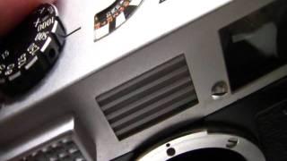 修理完了:キヤノン7 + 50mmF1.4