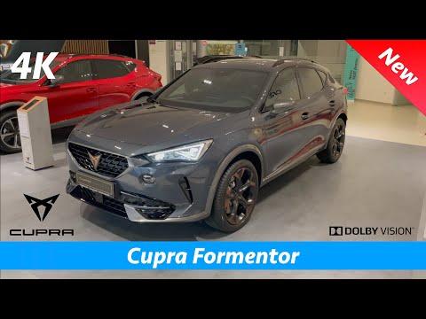 Cupra Formentor VZ 2021 - FIRST look in 4K   Exterior - Interior (Magnetic Tech Gray Metallic)