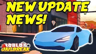 Roblox Jailbreak LIVE!! NEW WINTER UPDATE NEWS! New Cars, Snow Map, And Trains!? |