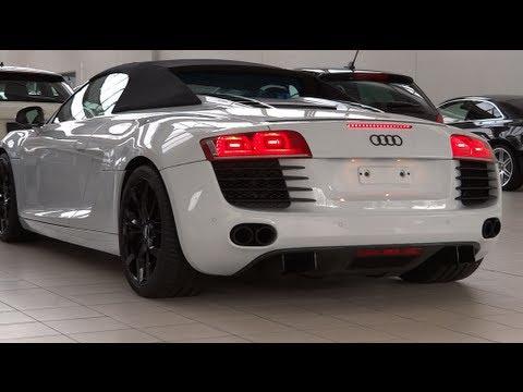 Audi  R8 Spyder Купе класса A - рекламное видео 2